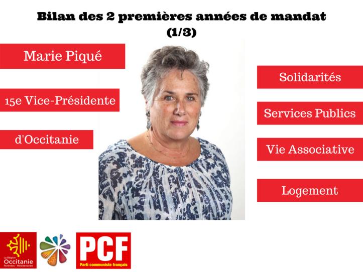 Marie PiquéVice-Présidente d'Occitanie1
