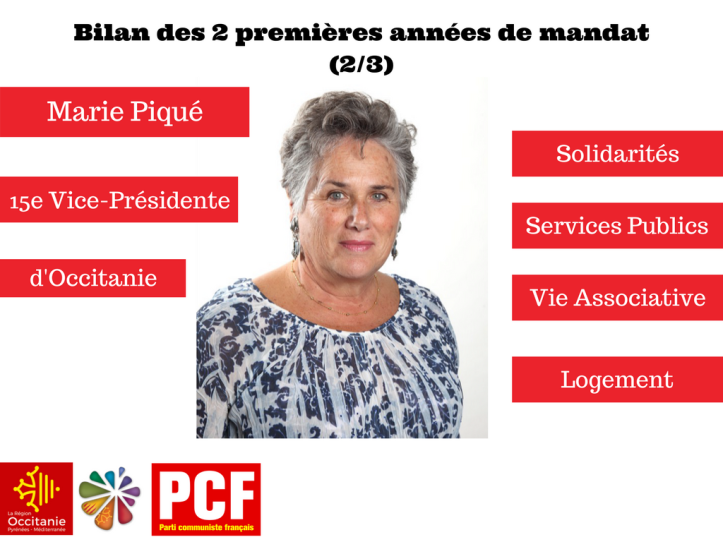 Marie PiquéVice-Présidente d'Occitanie2