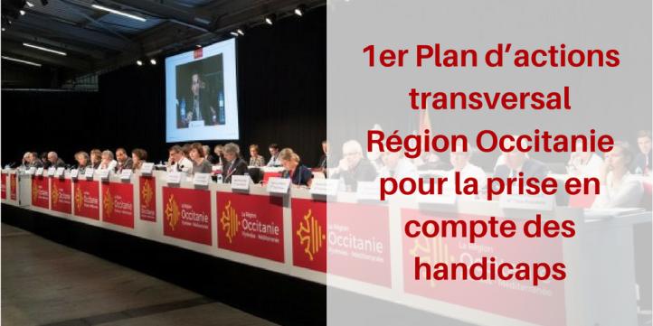 Adoption du 1er Plan d_actions transversal Région Occitanie pour la prise en compte des handicaps