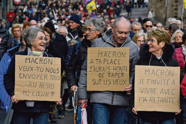 FRANCE-SOCIAL-PENSIONS-PROTEST